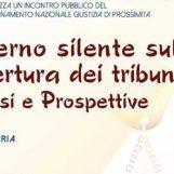 Tribunali soppressi, in Calabria il convegno del Coordinamento Nazionale. Inviti anche per Ariano e Sant'Angelo dei Lombardi