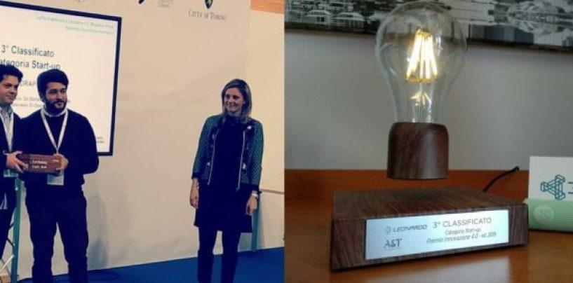La startup mercoglianese 3DRap conquista Torino con un progetto per piloti disabili