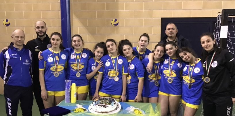 Academy School Volley, l'Under 14 trionfa in campionato