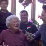 """VIDEO/ Nonna Mariuccia festeggia 105 anni: """"Ecco quali sono i miei segreti"""""""
