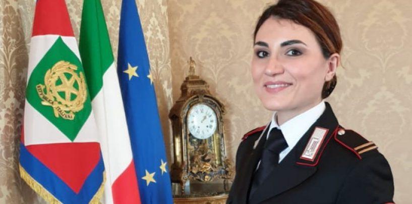 """8 marzo, il maresciallo Anna Maria Iacobone tra gli ospiti al Quirinale per la """"Giornata della Donna"""""""