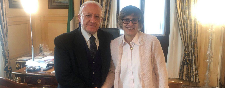 """Piano Lavoro in Campania, De Luca incontra il ministro Bongiorno: """"Diventerà un modello per l'Italia"""""""