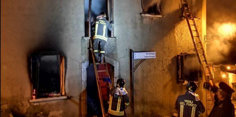Incendio a Greci, non ce l'ha fatta la 75enne salvata dai Vigili del Fuoco