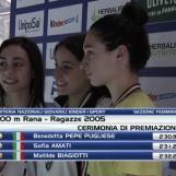Nuoto, doppio titolo nazionale per la giovane Benedetta Pepe Pugliese
