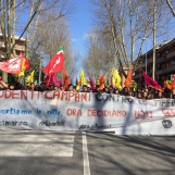 """Studenti in piazza da tutta la Campania contro le Camorre: """"Ora decidiamo noi. Il 23 Marzo saremo a Roma"""""""