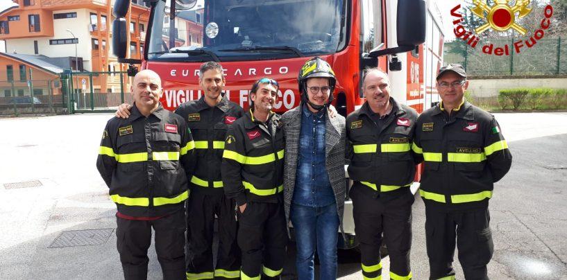 Nicola, vittima di un grave incidente, ringrazia i suoi salvatori: i Vigili del Fuoco di Avellino