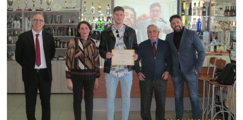 Premiato come eccellenza Miur un alunno del Vanvitelli di Lioni