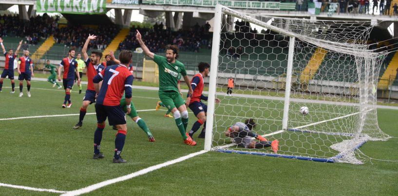 Quasi apoteosi al Partenio: l'Avellino ribalta la Torres e agguanta il Lanusei