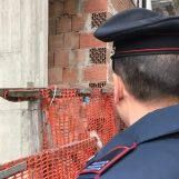 Controlli dei Carabinieri nei cantieri: denunciati due imprenditori