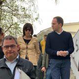 Cipriano, ultimissima tappa di campagna elettorale tra San Tommaso e Rione Mazzini