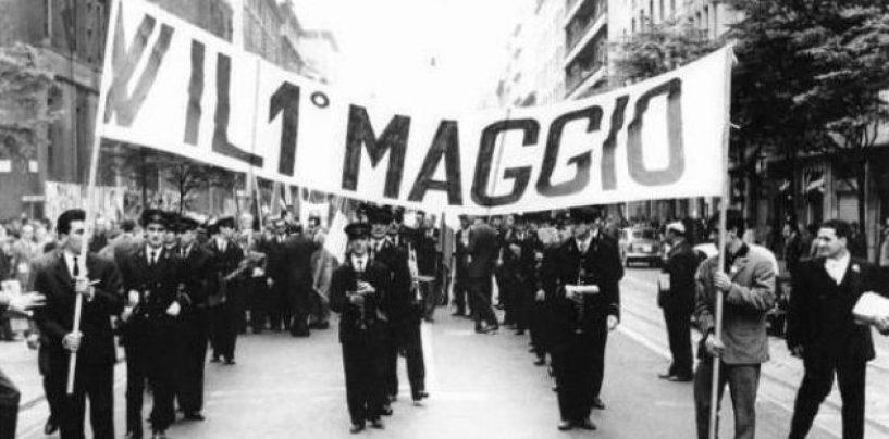 """""""La Festa non si vende"""", i sindacati in piazza per il primo maggio dei Lavoratori"""