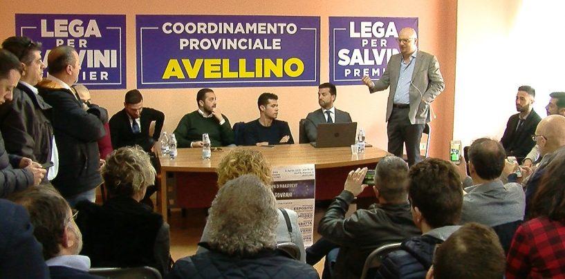 Riecco Crippa: il vice di Salvini torna ad Avellino
