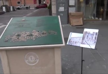 """VIDEO/ Mappa dei monumenti avellinesi con opere mancanti, Enzo Costanza rende """"giustizia"""" alla Dogana e a Bellerofonte"""