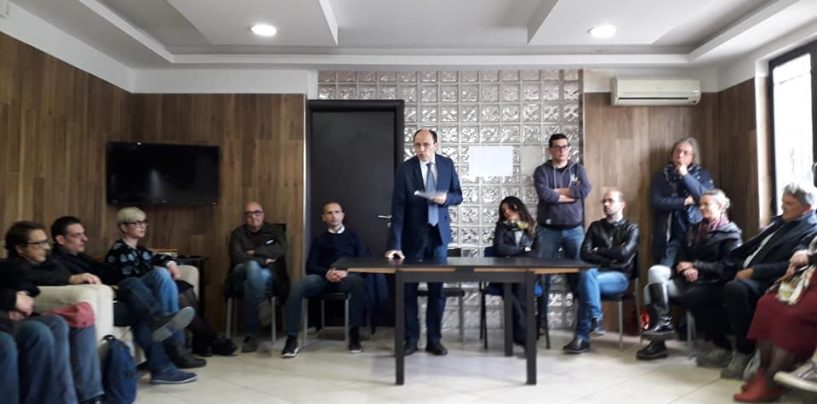 """Elezioni, Santoro presenta il Centrosinistra alternativo: """"Avevamo il dovere di esserci"""""""