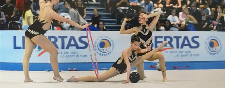Campionati Nazionali di ginnastica ritmica, sul podio le atlete irpine