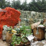 Scoperto deposito incontrollato di rifiuti a Montella: sanzioni per oltre 4mila euro