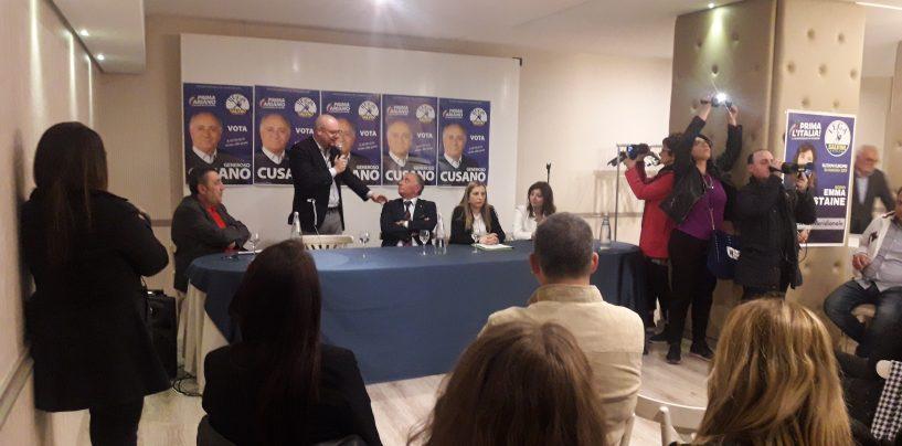 """Ariano al voto, Cusano presenta la sua lista: """"Basta minacciare i miei candidati"""""""