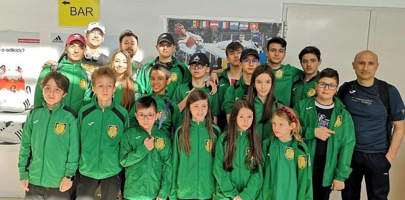 Dieci medaglie per l'Asd Taekwondo all'Open di Riccione
