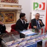 """VIDEO/ Europee, Franco Roberti ad Avellino: """"Il Pd contro i populismi. In Irpinia cambiamenti positivi"""""""