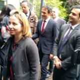 """Il ministro Grillo al Frangipane di Ariano. """"De Luca insulta soltanto, essere qui per me è un dovere"""""""