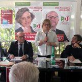 FOTO/ Amministrative Ariano, Franza incontra associazioni, categorie professionali e gli elettori di Contrada Frolice
