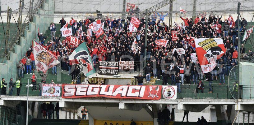 Avellino-Bari, restrizioni in vista per i tifosi ospiti: al Partenio con la tessera