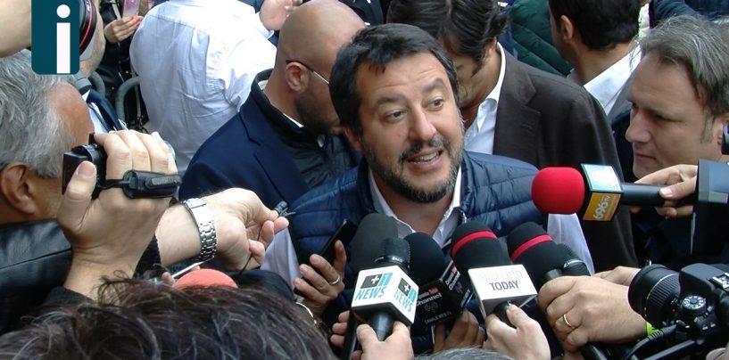 """Sicurezza, Salvini: """"Più forze dell'ordine nelle province campane"""""""