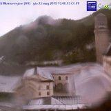 Maggio più pazzo di marzo: grandine in Irpinia e neve su Montevergine