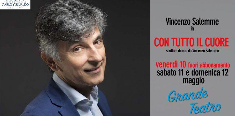 """Vincenzo Salemme chiude la stagione del Teatro """"Gesualdo"""""""