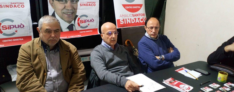 """Santoro, tappa a Picarelli: """"In passato solo false promesse"""". E sull'ex Isochimica: """"Servono controlli seri"""""""