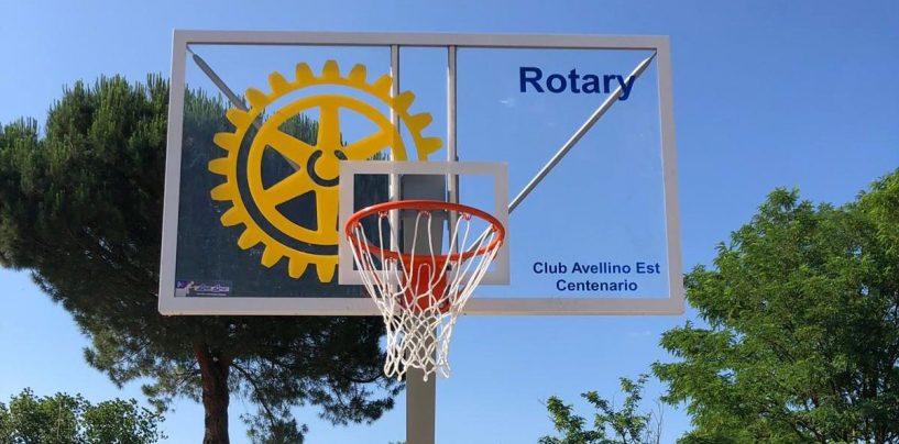 Il Rotary dona due canestri al comune di Grottaminarda, sabato l'inaugurazione del nuovo campo da basket
