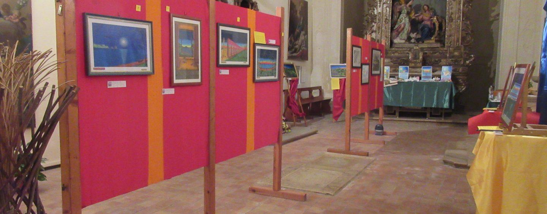 A Calitri ultimo giorno per la mostra dell'artista Rosselli