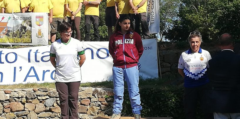 Tiro con l'arco, l'arianese Marianna Rogazzo è argento al campionato italiano 3D