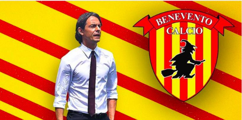Calcio, Pippo Inzaghi riparte dalla panchina del Benevento