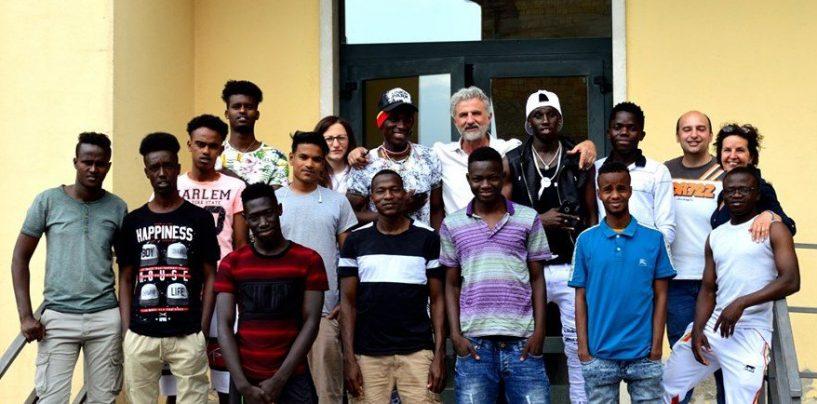 Anche i ragazzi dello Sprar di Sant'Andrea di Conza alla Festa del Mare