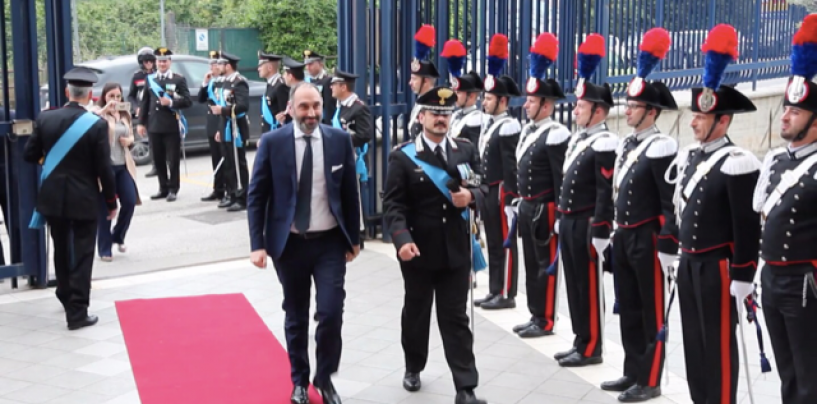 """Gubitosa: """"Carabinieri esempio straordinario per le future generazioni"""""""
