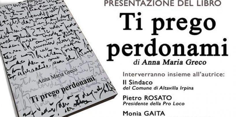 Ad Altavilla si presenta il libro d'esordio di Anna Maria Greco