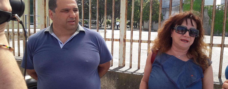 """Carcere di Ariano, Fp Cgil fuori dai cancelli: """"Manca il confronto. La dirigente non si è fatta trovare"""""""