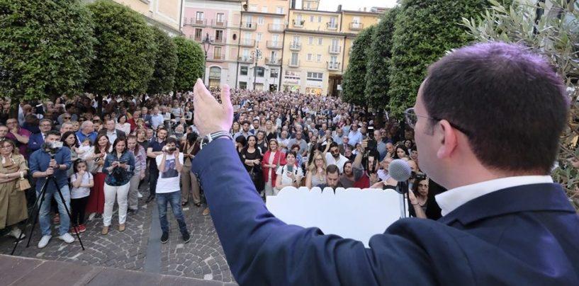 """FOTO/ Cipriano chiude tra fair-play e attacchi a Festa: """"Aspetto ancora il mancato confronto"""""""