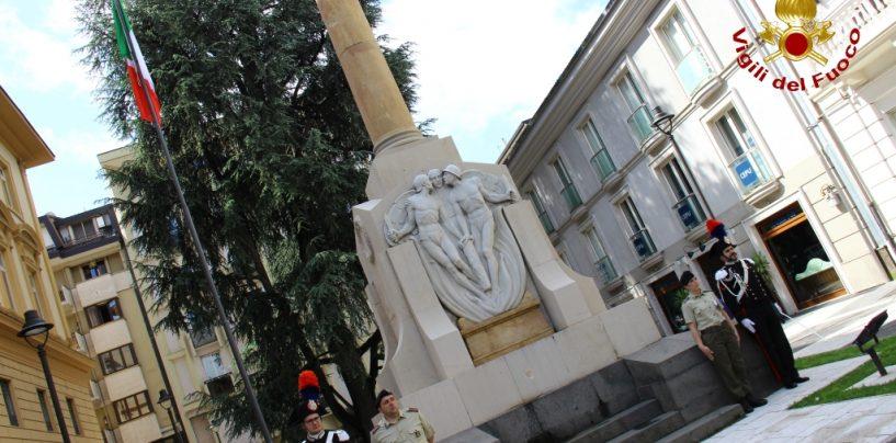 Avellino celebra il 25 aprile: a via Matteotti sindaco e Prefetto deporranno una corona di fiori