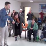 VIDEO/ Un sorriso per i nonni: una giornata all'insegna della solidarietà con gli ospiti di Villa Paradiso