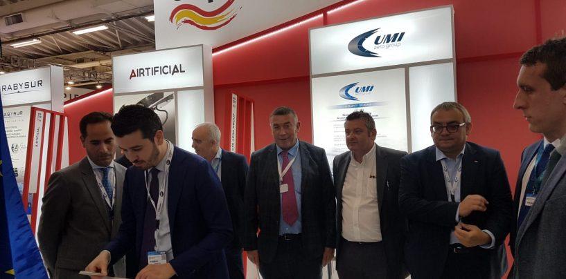 Nasce a Parigi Umi Aero Group, Irpinia in pole position con l'Omi di Lacedonia