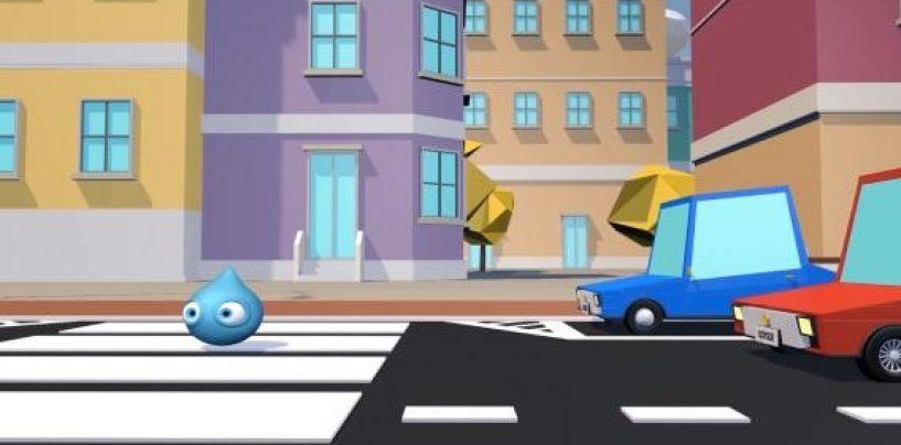 Educazione stradale, la goccia Sailly entra nelle scuole campane