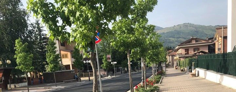 Volturara, Viale Rimembranza quasi pronto: il sindaco Sarno ringrazia i cittadini