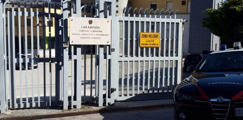"""Servizio ad """"Alto Impatto"""". Trovato in possesso di pugnale, carabinieri denunciano un 20enne di Montella"""