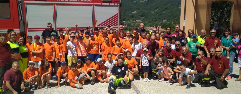 Campo scuola di Protezione Civile, i ragazzi scoprono il Volontariato