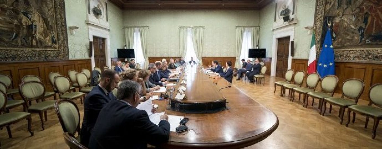"""Qualità della vita, il premier Conte presiede l'insediamento della Cabina di regia """"Benessere Italia"""""""