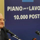 Lavoro, entro fine anno altri concorsi in Campania. Parola di De Luca