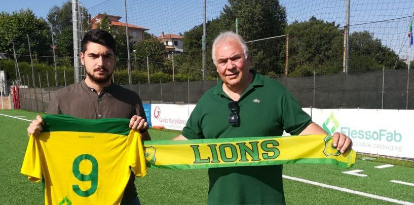 Promozione, i Lions Mons Militum si assicurano la punta Matteo Castiello