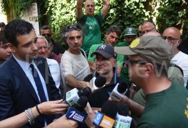 """VIDEO/ Festa incontra i tifosi ed esorta De Cesare: """"Se non può allestire la squadra deve dircelo"""""""